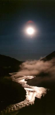 Nenana River Moonrise Seattle Astrology