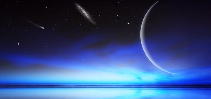 New Moon Cosmic Horizon