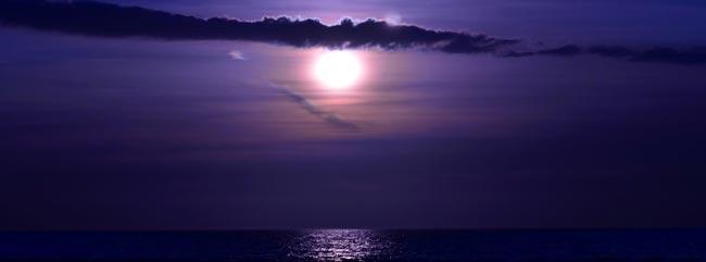 Pre-Lunar Eclipse Photograph