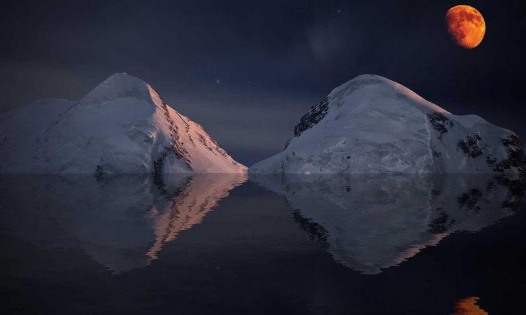Matterhorn Moon Switzerland