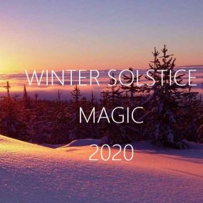 The Moment of Cosmic Inspiration — Winter Solstice 2020